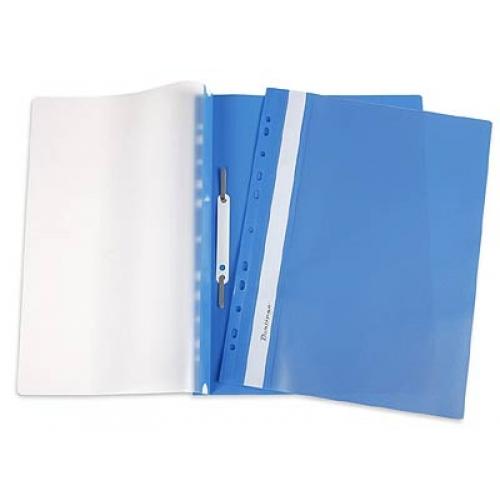 Папки — скоросшиватели пластиковые