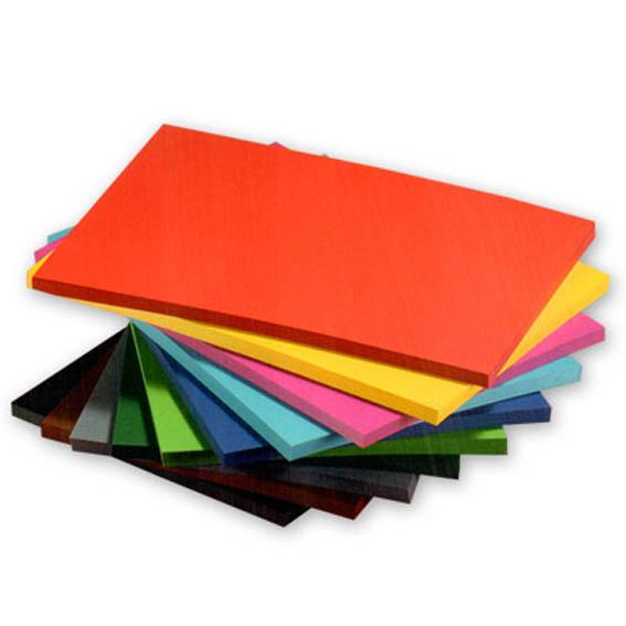 Бумага цветная, бархатная, картон