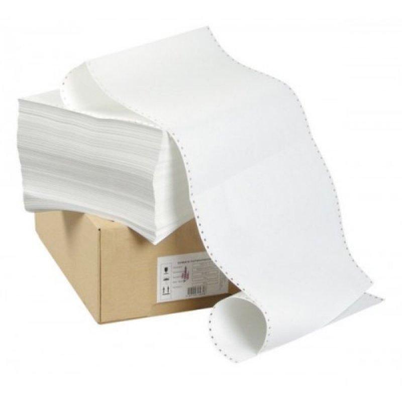 Бумага с неотр перфорацией 210х305мм шаг 12 1500л/уп