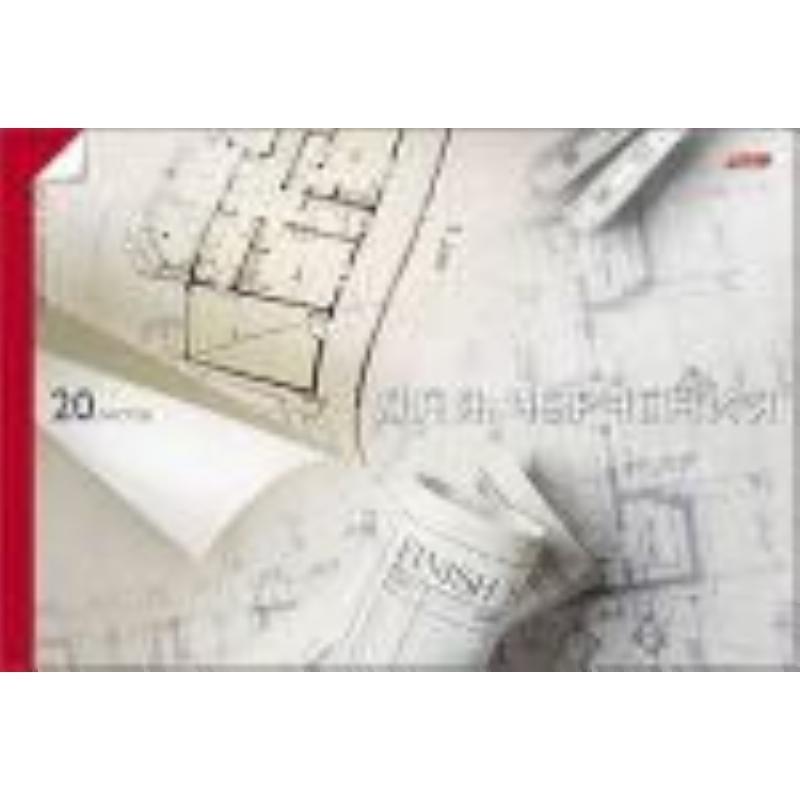 Папка для черчения А4 10л 160г/м2 рамка