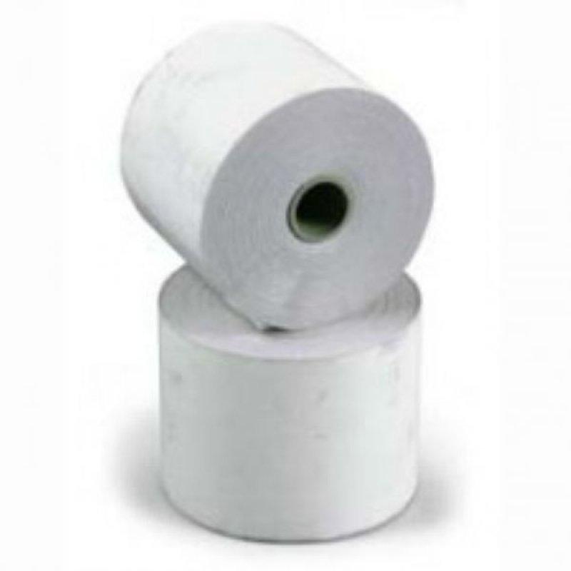 Чековая лента 44х57х12 1 активный слой бумага для оклейки окон