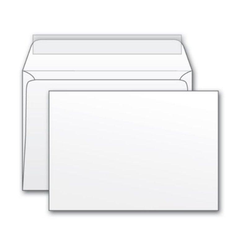 Конверт С4 (229х324мм) белый с отрывной полосой 100г/м2