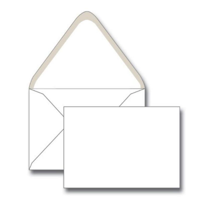Конверт С6 (114х162мм) белый декстрин треугольный клапан