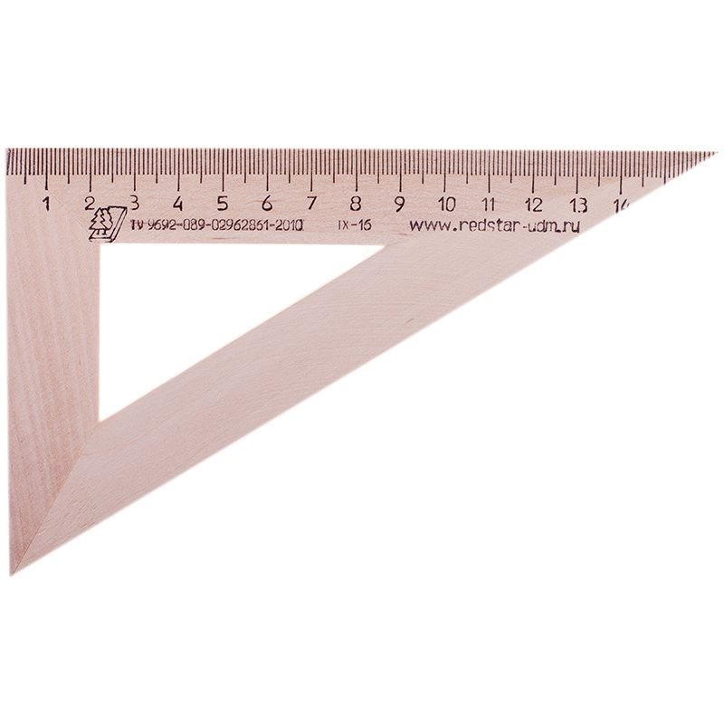 Треугольник 16см 30град Можга деревянный