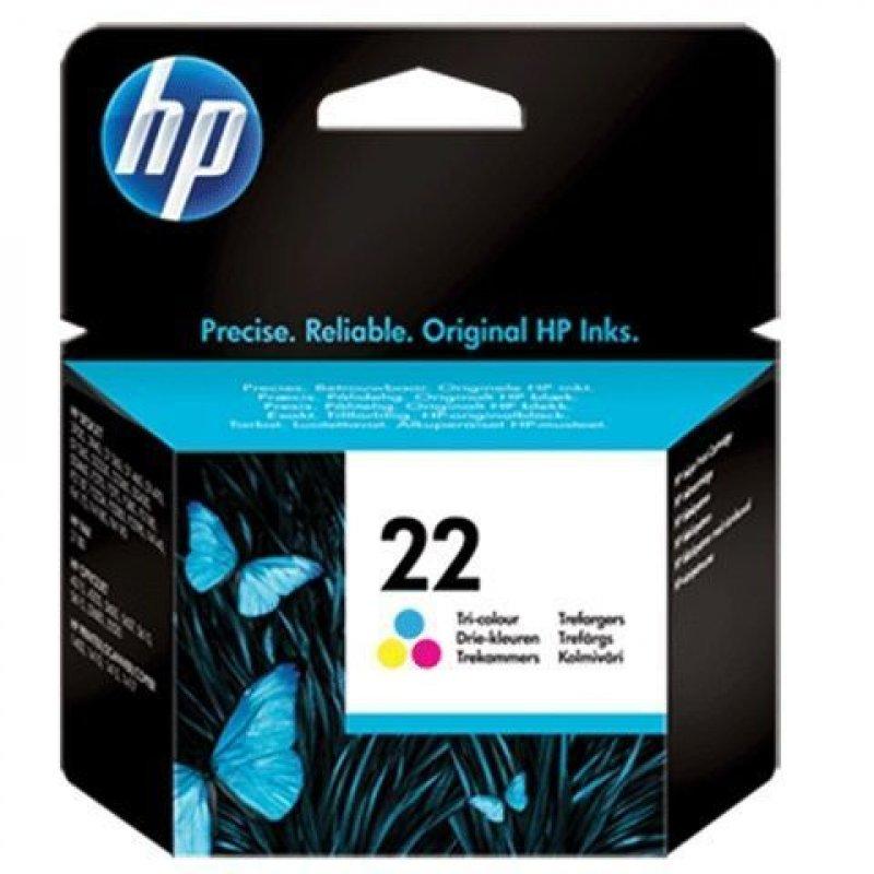 Картридж для HP DJ F370/F380/F2180/F4180 №22 C9352AE 165стр цветной ориг