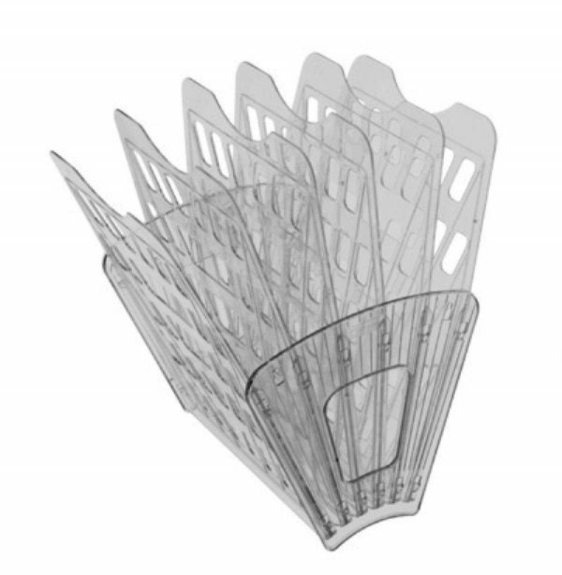 Поддон 6-секционный веер Стамм серый тонированый