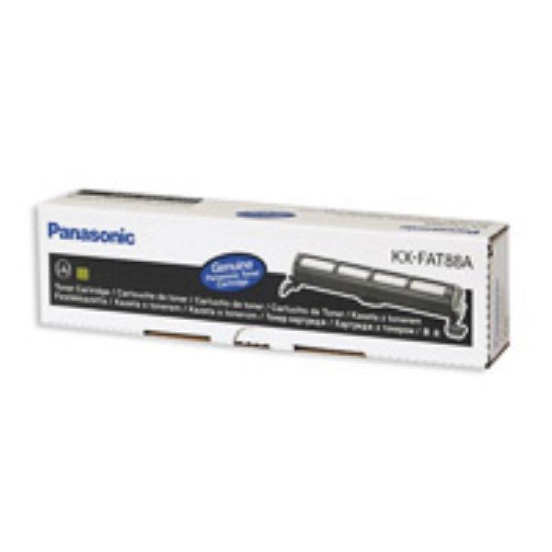 Тонер-картридж для факса Panasoniс KX-FAT88А 2000 стр черный ориг