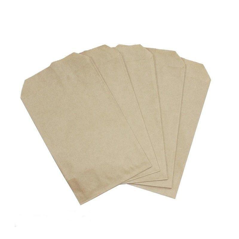 Пакет бумажный для мелочи крафт 120х180мм