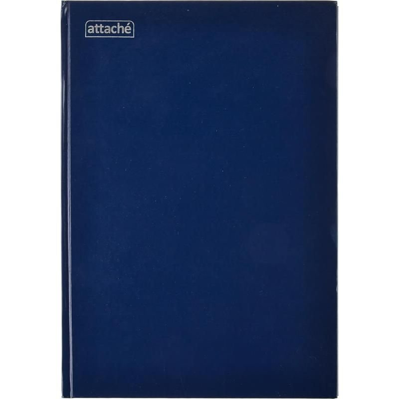 Книга учета А4 144л клетка обложка бумвинил блок офсет
