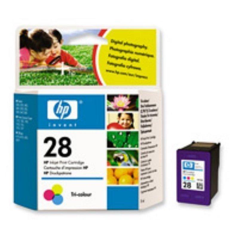 Картридж для HP Deskjet 3320/3520/5650/5850 №28 C8728A 190стр цветной ориг