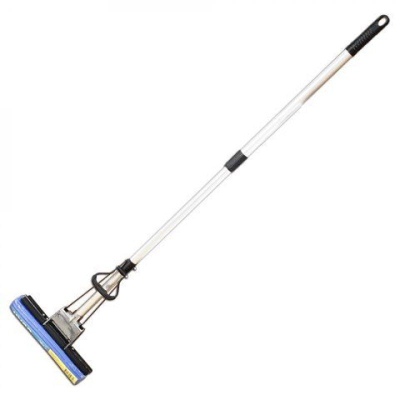 Швабра для пола с механическим отжимом длина 120см