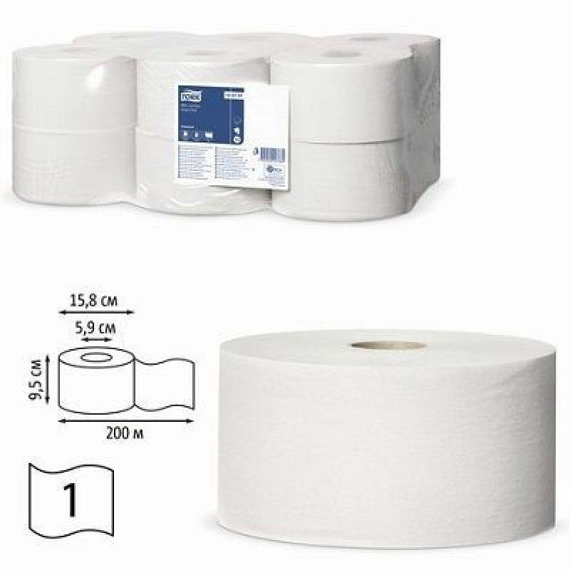 Бумага туалетная Tork Universal 1-сл 200м
