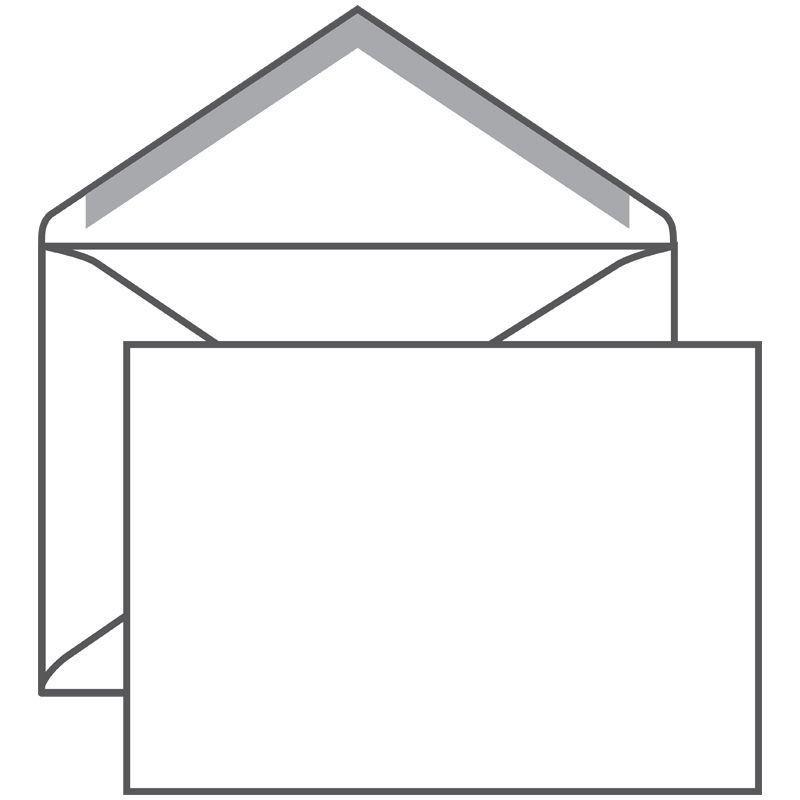 Конверт С5 (162х229мм) белый декстрин треугольный клапан