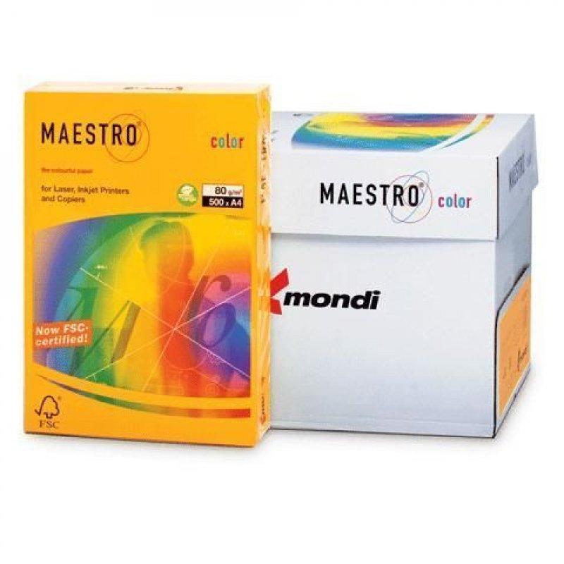 Бумага IQ/Maestro Color А4 80г/м2 500л старое золото