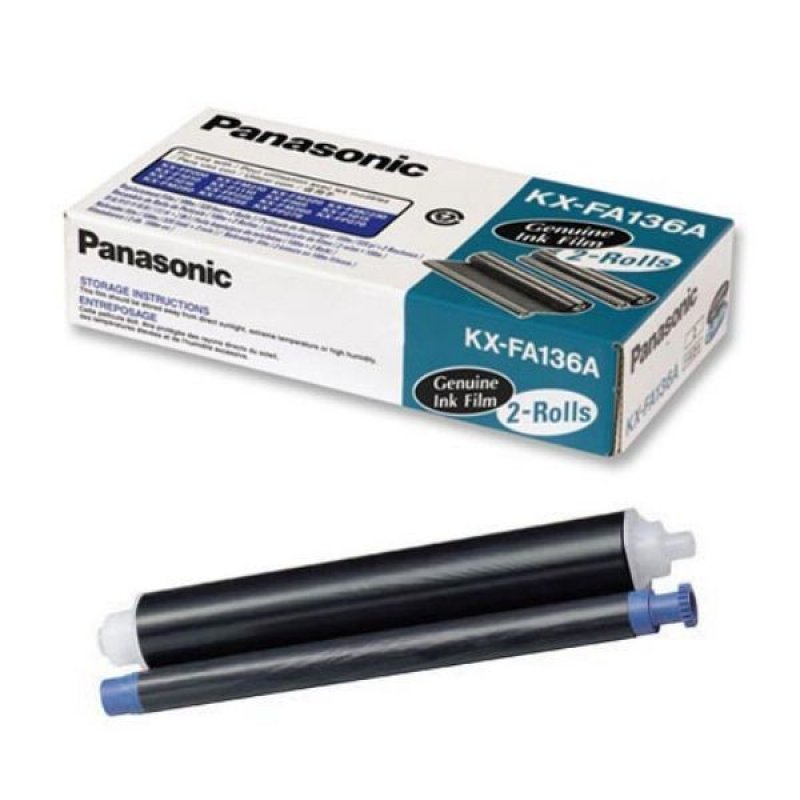 Термопленка для факса Panasonic KX-FA136A 2 шт/уп ориг