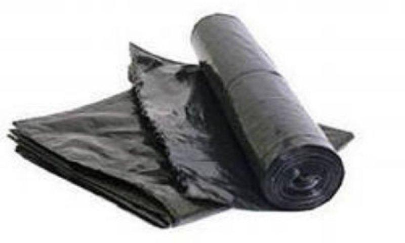 Мешки для мусора 160л 90х110см 45мкм 1шт черные ПВД
