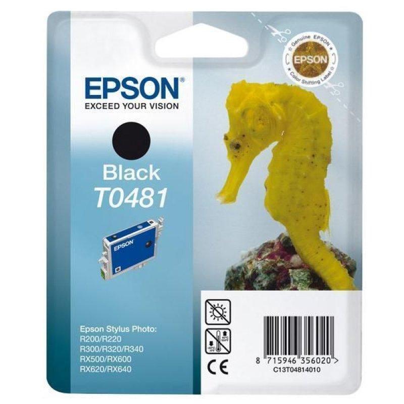 Картридж для Epson Stylus R200/R300/RX500/RX600 T0481 450стр черный ориг