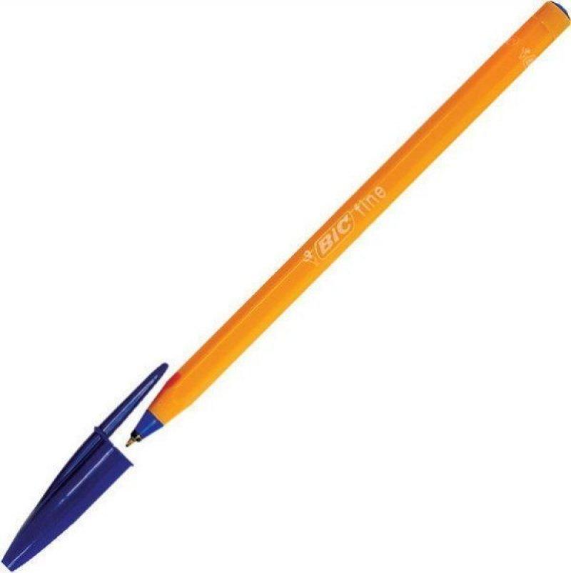 Ручка шариковая Bic Orange 0,8мм оранжевый корпус синяя