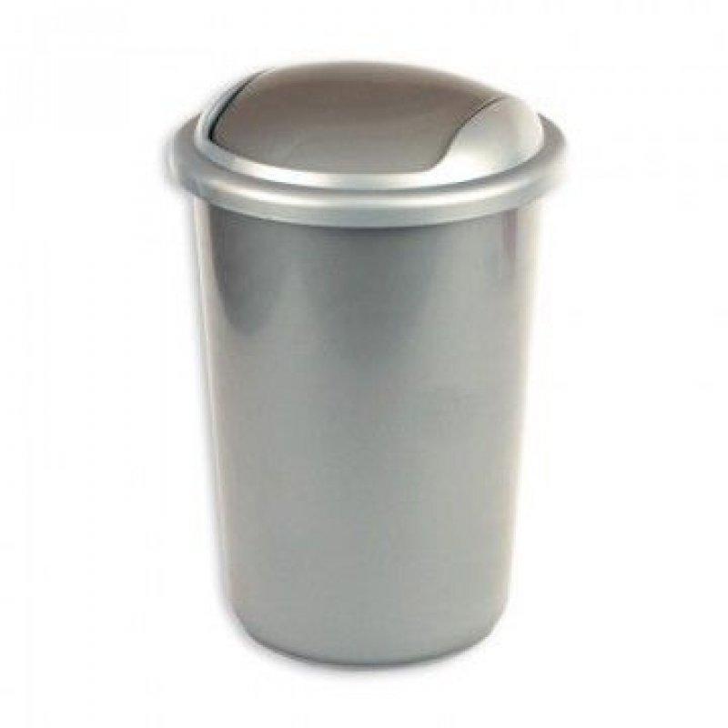 Контейнер для мусора 12л пластик овальный