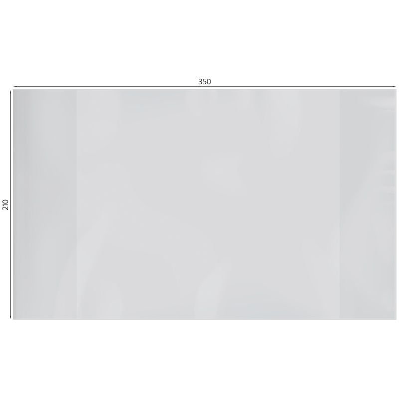 Обложка 210х350мм для тетрадей и дневников прозр