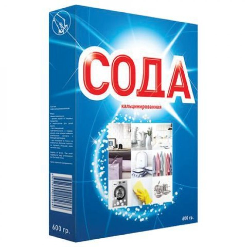 Сода кальцинированная 600гр BIONIX