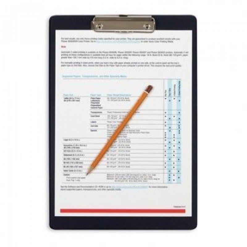 Папка-планшет с зажимом А4 Bantex плотный картон ассорти