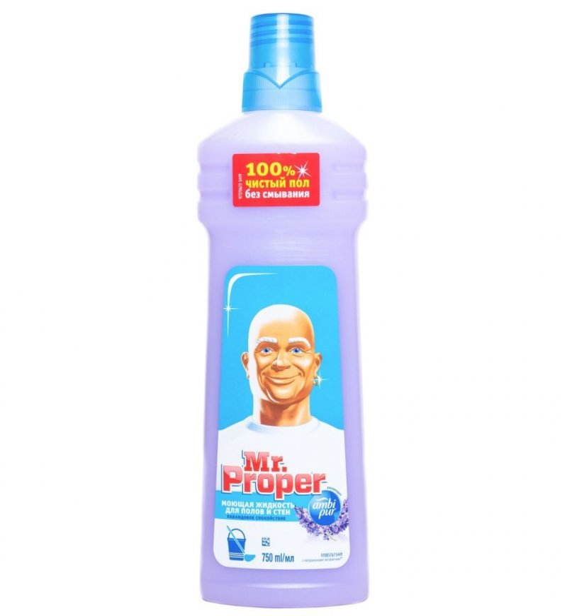 Средство для мытья пола 750мл Мистер Пропер ассорти