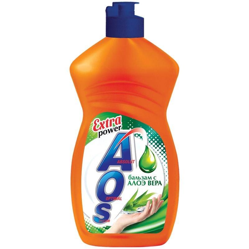 Средство для мытья посуды 450мл Аос ассорти