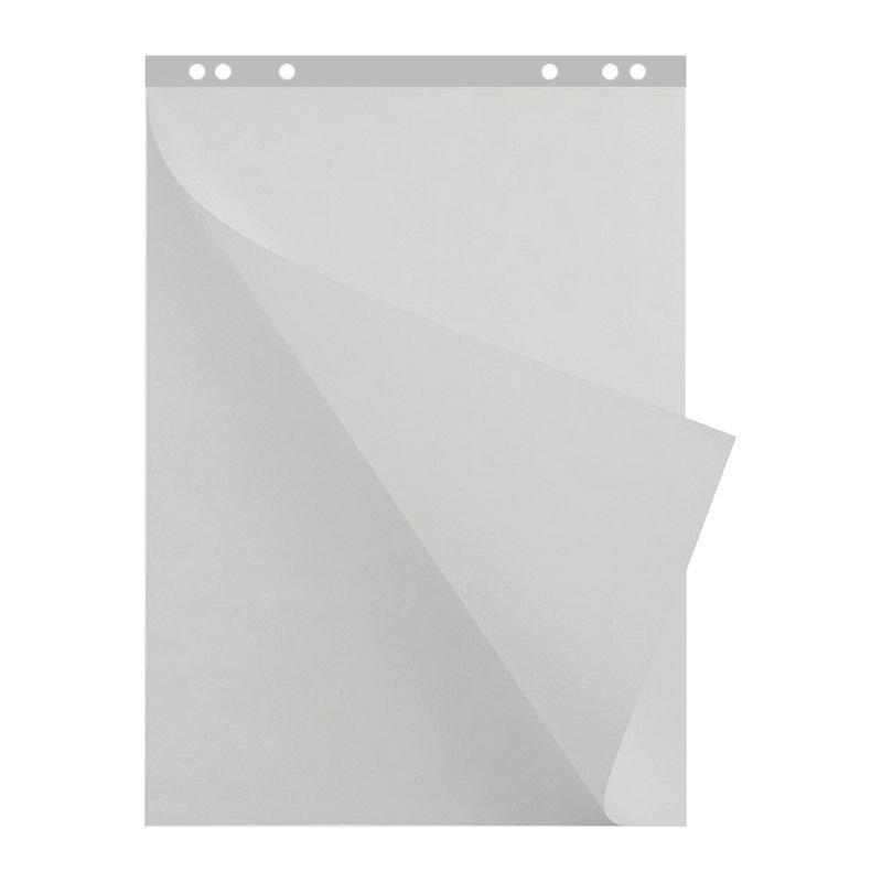 Бумага для флипчарта 20л 67х92см белая чистая