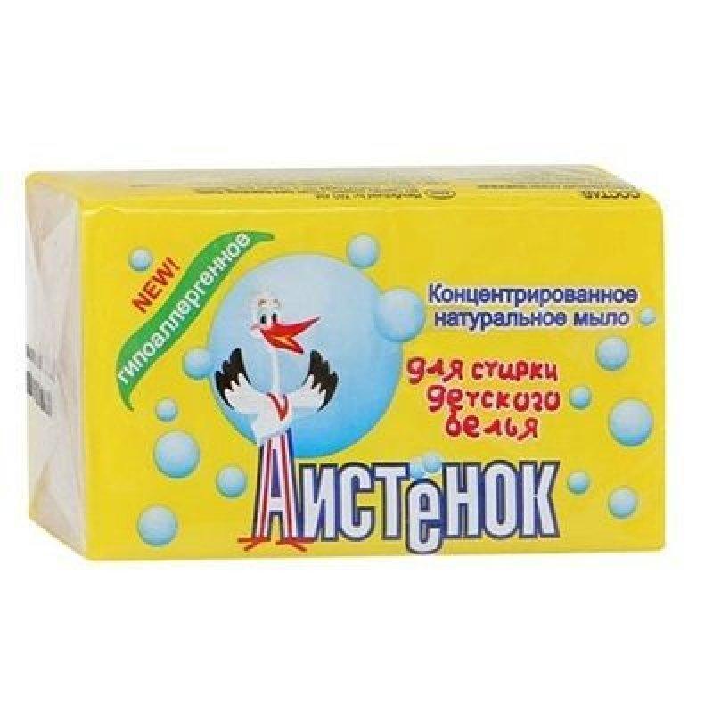 Мыло хозяйственное 200гр Аистенок в уп.