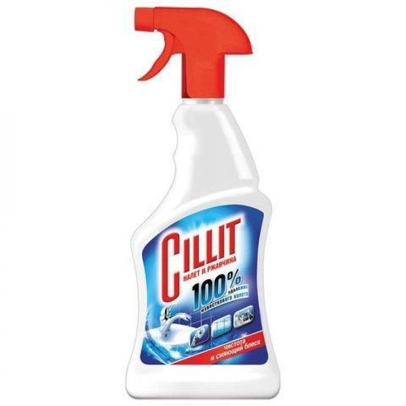 Чистящее средство для сантехники 450мл Cillit от ржавчины и известкового налета курок