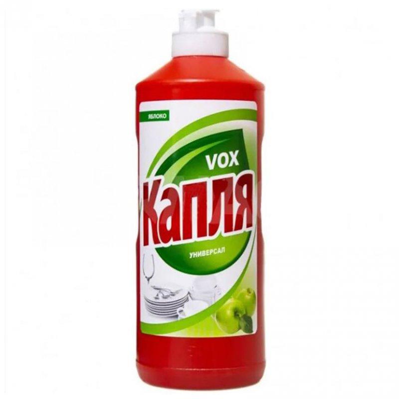 Средство для мытья посуды 500мл Капля VOX ассорти