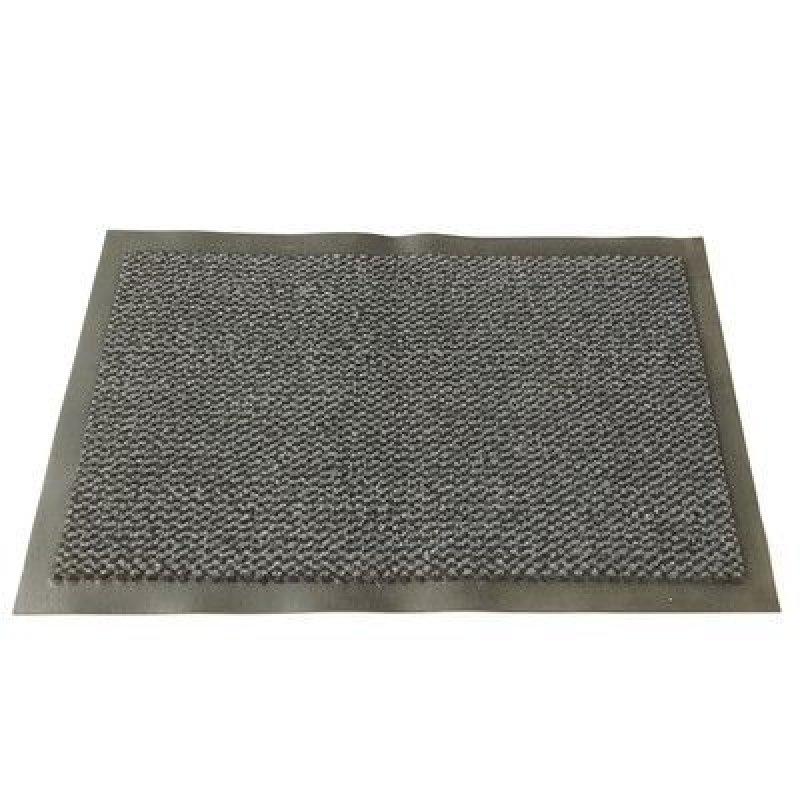 Коврик входной ворсовый влаго-грязезащитный черный 60х90 см