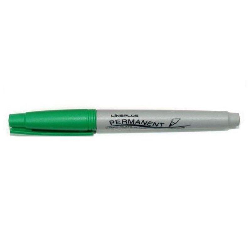Маркер перманентный Tukzar Slim Line 1мм суперострый наконечник зеленый