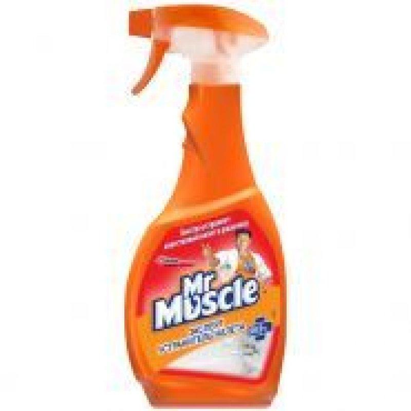 Чистящее средство от ржавчины и налета Мистер Мускул 500мл курок