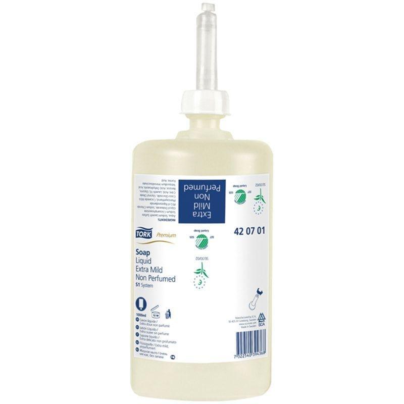 Картридж одноразовый с жидким мылом Tork Premium 1л диспенсер S1