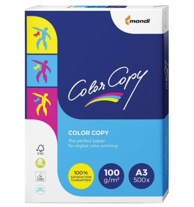 Бумага Color Copy A3 100 г/м 161% ISO 500л