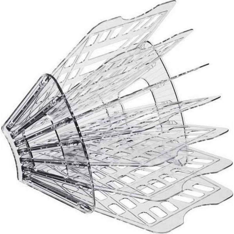 Поддон 7-секционный веер Стамм серый тонированный