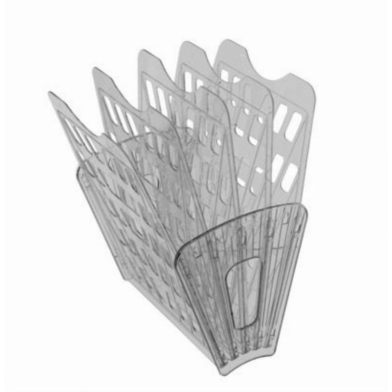 Поддон 5-секционный веер Стамм серый тонированный