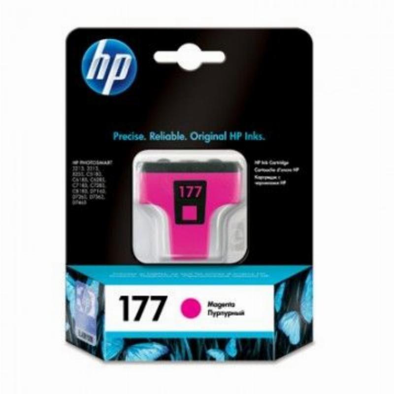 Картридж для HP Photosmart 3213/3313/8253/C5183/C6683/C6283 №177 C8772HE 370стр пурпурный ориг
