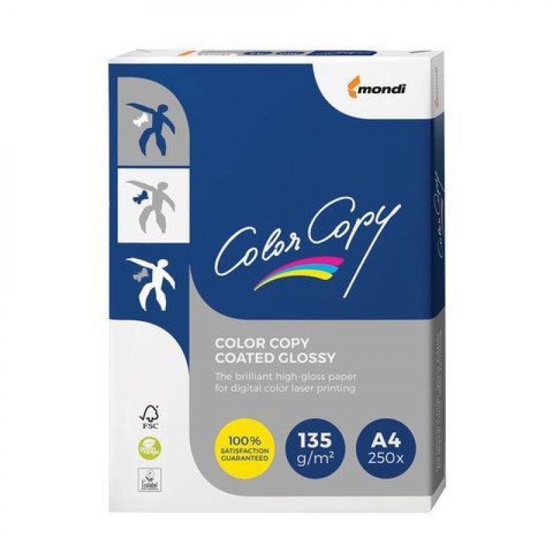 Бумага Color Copy Glossy A4 135г/м2 138% ISO 250л