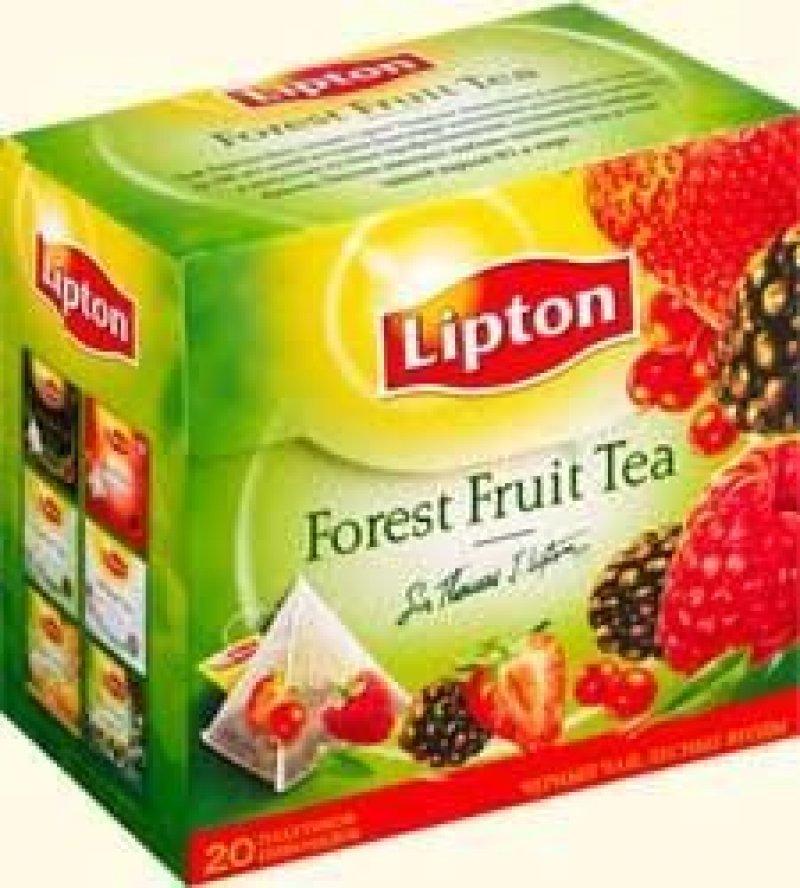 Чай Lipton Forest Fruit 20шт в пирамидках фруктовый