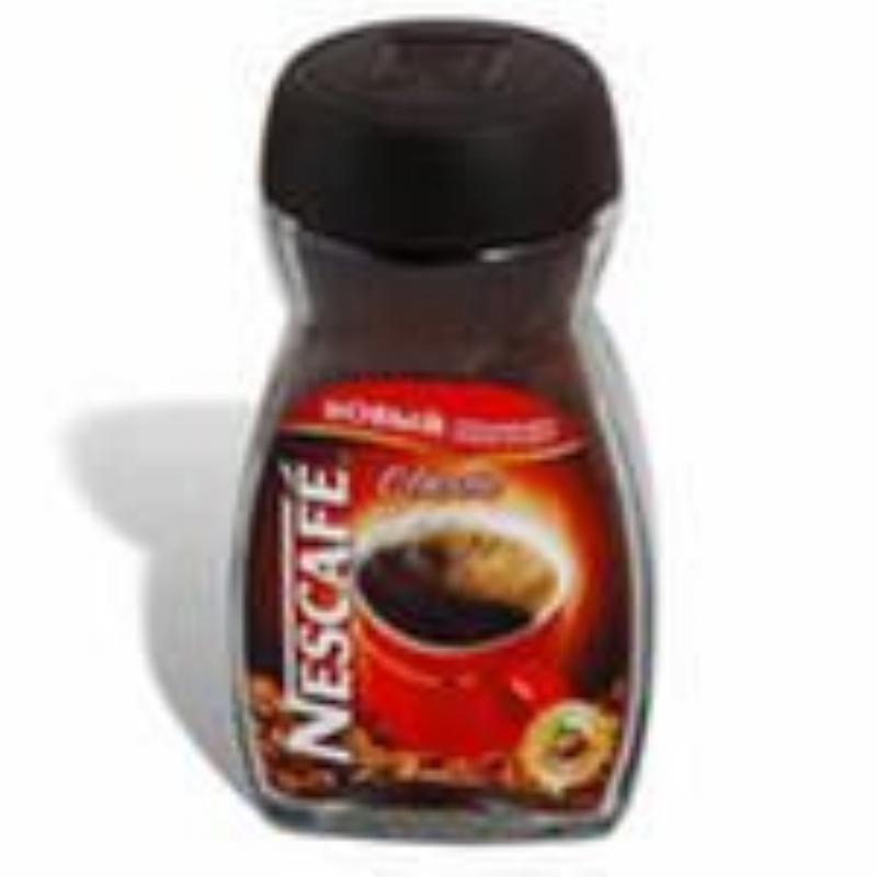 Кофе Nescafe Classic растворимый 95г стеклянная банка