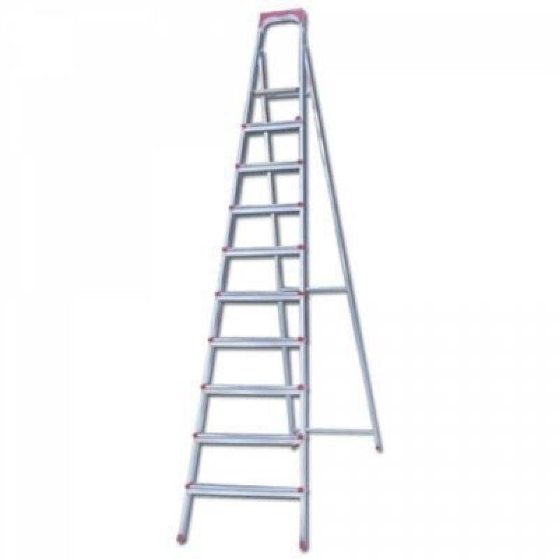 Лестница-стремянка Ufuk 226см 10 ступ стальная вес 13кг