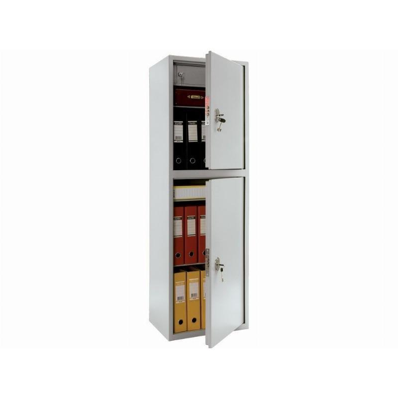 Шкаф металлический для документов 2 отделения КБ-032T 1555х470х395мм 52кг