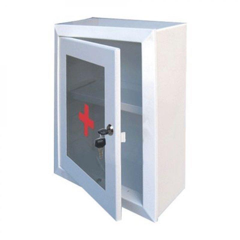 Шкафчик-аптечка 330x280x140мм металлический навесной
