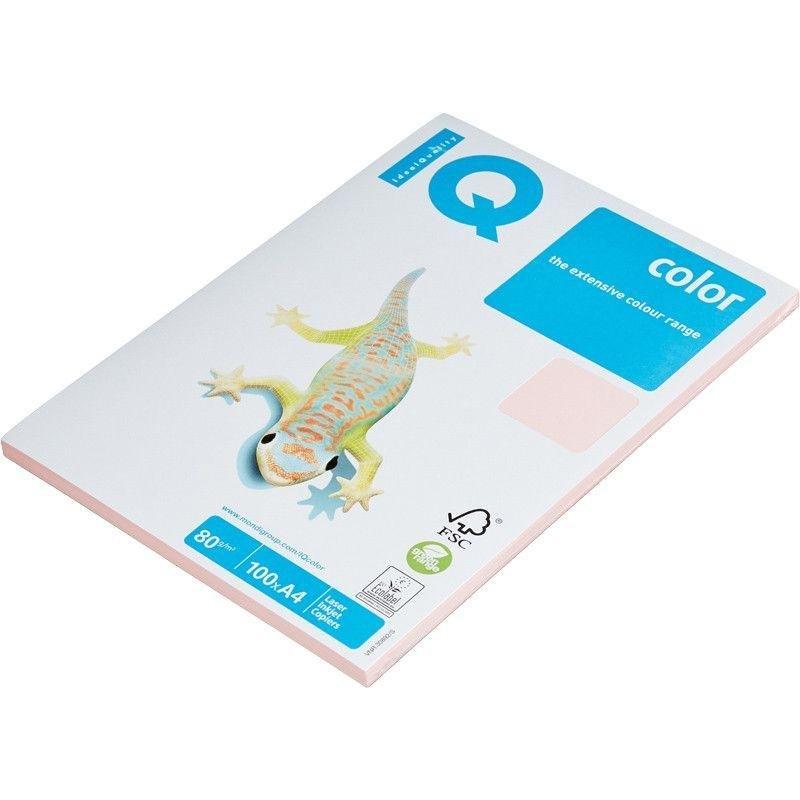 Бумага IQ/Maestro Color А4 80г/м2 100л розовая