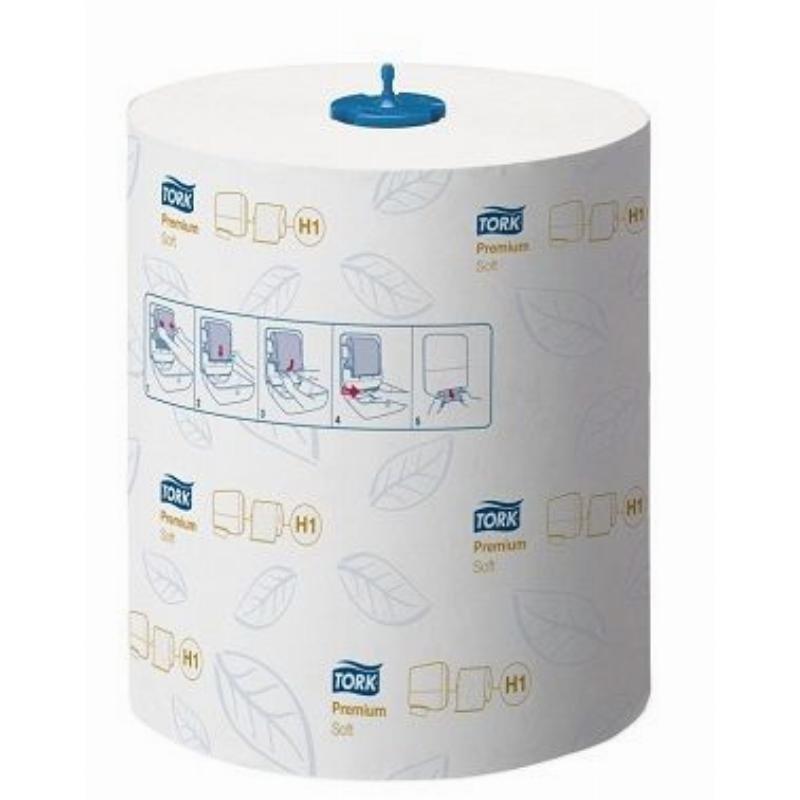 Полотенце бумажное Tork Premium 2-сл в рулоне 100м белое