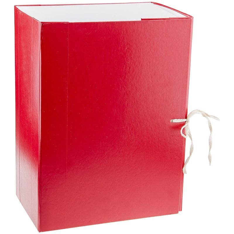 Короб архивный 150мм 2 завязки 1400л бумвинил ассорти 320х240х150мм OfficeSpace
