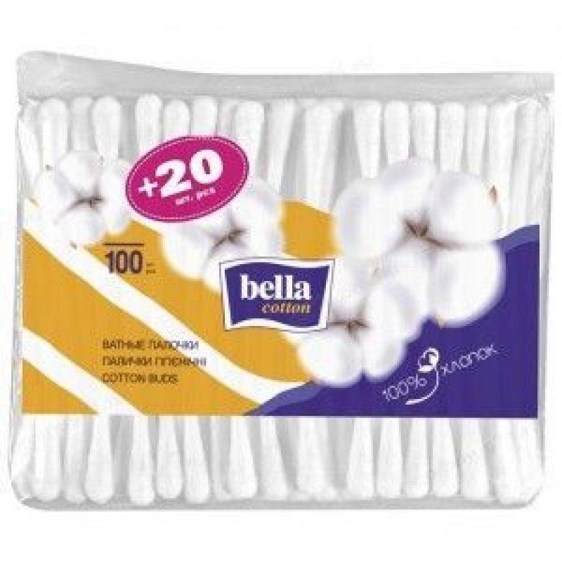 Ватные палочки Бэлла 100шт/уп пакет